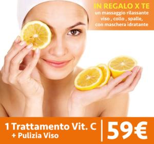 trattamento viso alla vitamina c